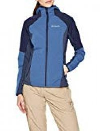 Columbia 1545251 SWEET AS SOFTSHELL HOODIE, Sudadera softshell, Mujer,  Poliéster softshell