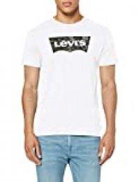 Levi's Housemark Graphic tee Camiseta, Blanco (Ssnl Hm Camo White 0249), S para Hombre