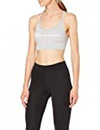 Champion The Seamless Fashion Bra Sujetador Deportivo, Gris (Gris Granit 8vu), X-Large para Mujer