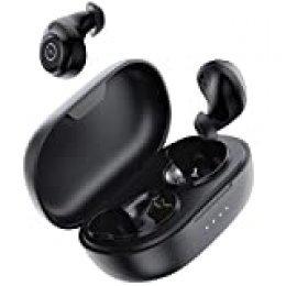 Auriculares inalámbricos Bluetooth ENACFIRE E60 V5.0, 8 Horas de reproducción Permanente, Auriculares Deportivos Bluetooth de Nivel IPX8, Bajos Profundos Apt-X, Doble micrófonos incorporados