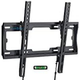 """Soporte de Pared para TV de 26""""-55"""" LED/LCD/Plasma TV Inclinable - Soportar 45kg, VESA Máx. 400x400mm, Nivel De Burbuja Incluidos para Facilitar La Instalación"""