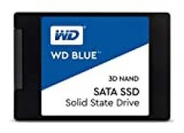 "Western Digital WDS500G2B0A WD Blue - Disco de estado sólido, 500GB, 2.5"", NAND, SATA, 3D,  Internal SSD"