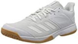 adidas Ligra 6, Zapatillas de vóleibol para Mujer, Blanc Blanc Gomme, 40 2/3 EU