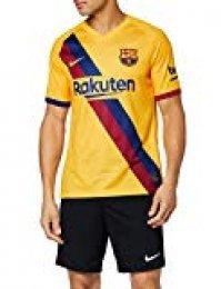 Nike Barcelona Camiseta, Hombre, Amarillo (2ª Equipación), M