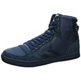 Hummel Slimmer Stadil Tonal High, Zapatillas Altas Unisex Adulto, Azul (Dress Blue 8628), 44 EU