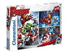 Clementoni - Puzzle 3 x 48, Avengers (252039)