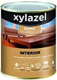 Xylazel M128687 - Barniz agua interiores incoloro 750 ml brillo