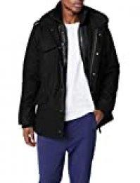 Brandit M65 Voyager Wool, Chaqueta para Hombre, Negro (Schwarz 2), Large