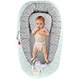 DaMohony - Bebé Cuna Nido Portátil Recién Nacidos Cama para Bebés Tumbona de Algodón Cómodo para Infantil