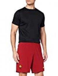 NIKE A.S. Roma 2019/20 Stadium Home/Away Pantalones Cortos, Hombre, Rojo (Team Crimson/University Gold), XL