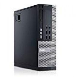 Dell - PC Optiplex 7010 SFF- Ordenador de sobremesa (Intel Core i5-3470, 8GB de RAM, Disco SSD de 240GB, Lector DVD, Windows 10 Pro ES 64) - Negro (Reacondicionado)