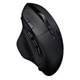 Logitech G604 Lightspeed Wireless Gaming Mouse - Black - 2.4GHZ/BT - N/A - EWR2 - #934