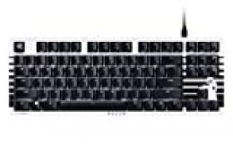 Razer Blackwidow Lite Stormtrooper Edition - Orange Switch, táctil y silencioso, US layout
