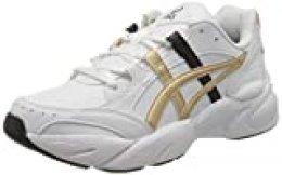 Asics Gel-BND, Zapatillas de vóleibol para Mujer, Blanco Champán, 37.5 EU