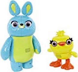 Disney- Pixar Toy Story Ducky and Bunny, Multicolor, Pack de 2 (Mattel GGJ92)