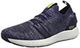 PUMA NRGY Neko Engineer Knit, Zapatillas de Running para Hombre, Peacoat-Yellow Alert, 40 EU