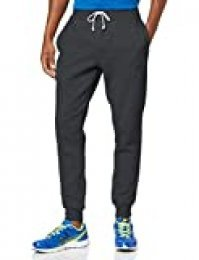 New Balance Core Slim Pant Pantalones, Hombre, Heather Charcoal, Extra-Large