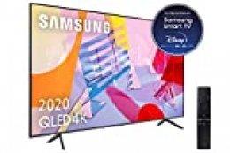 """Samsung QLED 4K 2020 75Q60T - Smart TV de 75"""" con Resolución 4K UHD, con Alexa integrada,Inteligencia Artificial 4K Wide Viewing Angle, Sonido Inteligente, One Remote Control"""