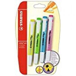 Stabilo Swing Cool – Lote de 4 subrayadores, colores surtidos