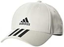 adidas Bball 3s Cap CT Gorra, Unisex Adulto, Orbit Grey/Black/Black, OSFM