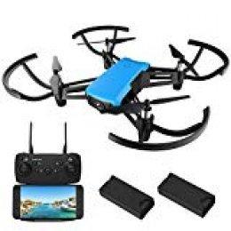 Drone con cámara HD, REDPAWZ R020 WiFi FPV RC Drone Quadcopter con cámara de gran angular 720P 120º, modo sin cabeza Altitude Devolución de una tecla RTF Drone para niños