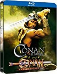Pack Conan 1+2¿ Black Metal Edition Blu-Ray [Blu-ray]