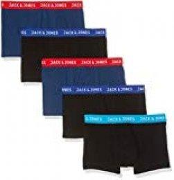 JACK & JONES NOS Bóxer (Pack de 5) para Hombre