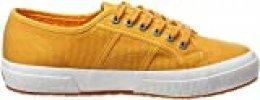 Superga 2750 Cotu Classic, Zapatillas Unisex Adulto, Amarillo (Yellow Golden W8u), 35 EU