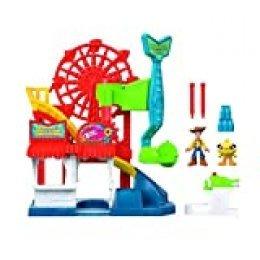 Mattel Imaginext Disney Toy Story 4 Vamos a La Feria, Juguete Niños 3 Años (GBG66)