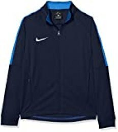 NIKE K Dry Academy18 Football J Chaqueta, Niños, Azul (Obsidian/Royal Blue), M