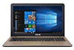 """ASUS X540UB-GQ491T - Ordenador portátil de 15.6"""" HD (Intel Core i5-8250U, 8GB RAM, 1TB HDD, Nvidia MX110 de 2GB, Windows 10 Original) Negro Chocolate - Teclado QWERTY Español"""