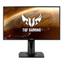 "ASUS TUF Gaming VG259QM - Monitor para jugos de 24.5"" FHD (1920 x 1080, Fast IPS, 280 Hz, 1 ms GTG, Extreme Low Motion Blur Sync, G-Sync Compatible, DisplayHDR 400)"