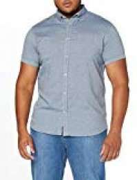 JACK & JONES Joranthony Shirt SS Org Camisa para Hombre