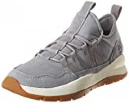 Timberland Boroughs Project Mixed Super Oxford, Zapatillas de Gimnasia para Hombre, Gris (Medium Grey Suede), 41.5 EU