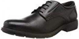 Geox U Saymore C, Zapatos de Cuero con Cordones para Hombre