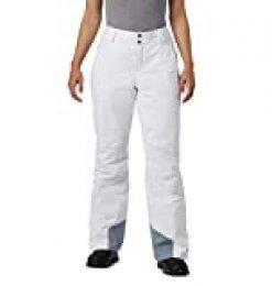 Columbia Pantalón de esquí para Mujer, Bugaboo Oh, Blanco, M