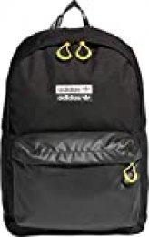 adidas Ryv Backpack Mochilla de Deporte, Unisex Adulto, Black, NS