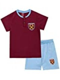West Ham United FC Pijamas de Manga Corta para niños Football Club