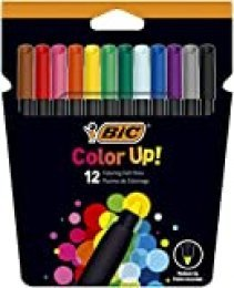 BIC Color Up Rotuladores de Colorear - Colores Surtidos, Pack de 12