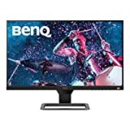 "BenQ EW2780 - Monitor de 27"" FullHD (1920x1080, 5ms, 75Hz, 3x HDMI, IPS, HDRi, FreeSync, Altavoces,  Eye-care, Sensor Brillo Inteligente, Flicker-free, antireflejos, sin marco, VESA) - Gris"