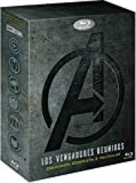 Pack: Vengadores 1-4 [Blu-ray]