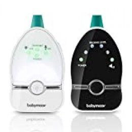Babymoov Easy Care Vigilabebés audio con lamparita, Easy Care - 500m