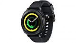 """SAMSUNG Gear Sport - Smartwatch (1.2"""", Tizen, 768 MB de RAM, Memoria Interna de 4 GB), Color Negro- Versión española"""