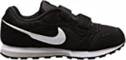 Nike MD Runner 2 (PSV), Zapatillas Unisex Niños, Negro (Black 000), 32 EU