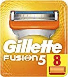 Gillette Fusion5 Maquinilla Afeitar, 8 Recambios