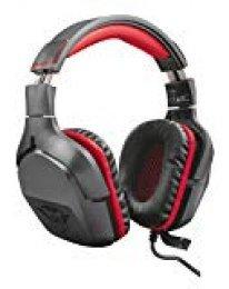 Trust Gaming GXT 344 Creon - Auriculares Gaming para PC, PS4 y Xbox con micrófono Ajustable y Sonido estéreo, Color Negro