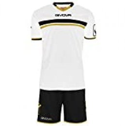 Givova, kit game, blanco/negro, L