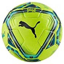 PUMA teamFINAL 21.1 FIFA Quality Pro Ball Balón de Fútbol, Unisex-Adult, Lemon Tonic-Spectra Green-Ocean Depths Black-Omphalodes, 5
