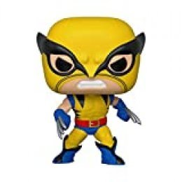 Funko Pop Bobble Marvel: 80th-First Appearance Wolverine Figura Coleccionable, Multicolor (44155)