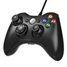 AiMis Gamepad Controller USB, Controlador de Gamepad para Xbox 360, Mando para PC Windows XP/7/8/10
